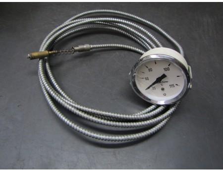Fernthermometer Chrom Framo IFA Fortschritt Neu (2808)
