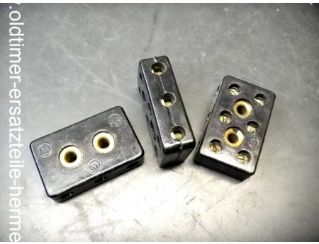 Kabelverbinder 3-fach Klemmstein LV/3 Leitungsverbinder IFA DKW (2914)