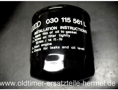 Ölfilter Wartburg 1.3 Trabant 1.1 (C3134)