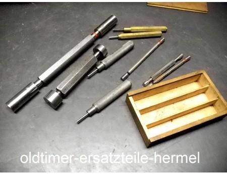 Lehrdorn Prüflehre 2,5 bis 20 mm 9 Stück (3435)