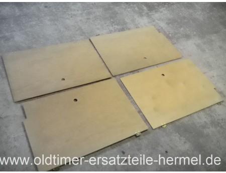 Sitzbank Platten Stauklappen DDR Wohnwagen Bastei 1 (3379)