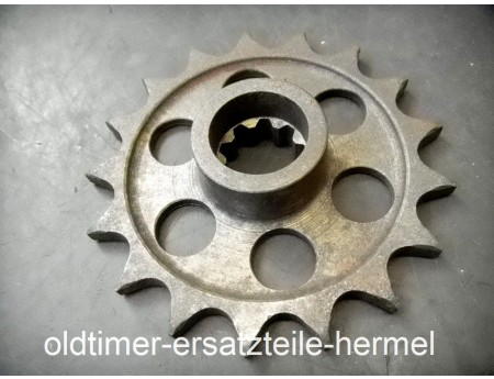 Kettenritzel Ritzel Antriebsritzel Rennsport 17 Zähne (C3538)