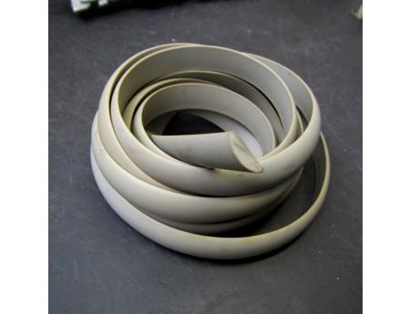Gummi Profil Kunststoff Abdeckprofil grau IFA (3987)