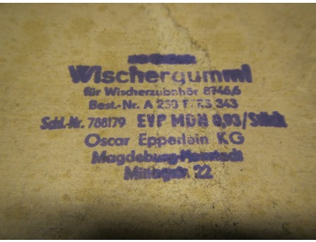 Wischergummi 230 mm OEM Oldtimer DKW F8 P70 Wartburg (C4160)
