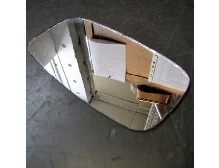 Spiegelglas Simson Mofa Moped Spiegel 119x63,5 (4370)