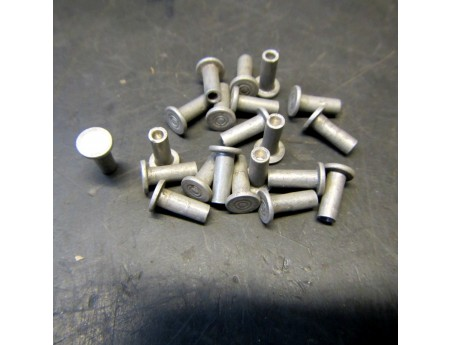 Flachkopfniet Alu 3x9 mm Bremsbacken Bremsbelag 10 Stk. Niet (4858)