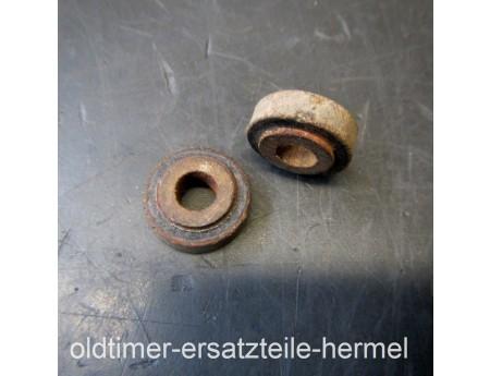Isolierscheibe Pertinax 2 Stk. Trabant Auspuff Vorschalldämpfer (5615)