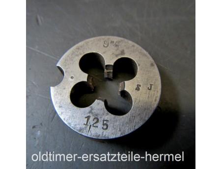 Schneideisen 9 x 1,25 Gewindeschneider 9 mm (5630)