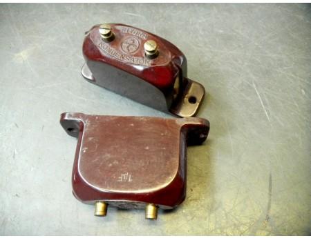 Hydra Kondensator Bakelit uralt 1 µF (144)