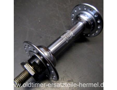 Vorderradnabe Renak 25/32 Fahrrad Nabe Chrom Neu (C5705)