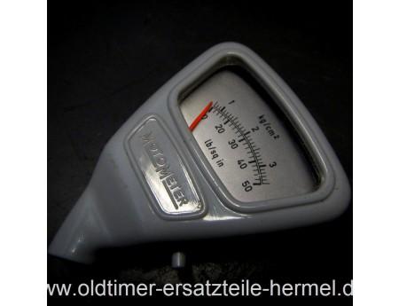 Motometer Reifen Luftdruckmesser grau, Top-Zustand (5718)
