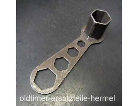 Zündkerzenschlüssel 14er DKW MZ Oldtimer Universalschlüssel (5817)
