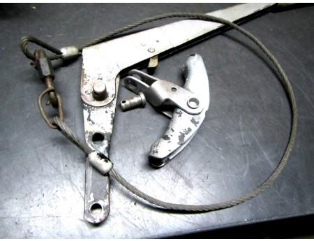 Handbremse Handbremshebel DDR Wohnwagen Bastei (C21539)