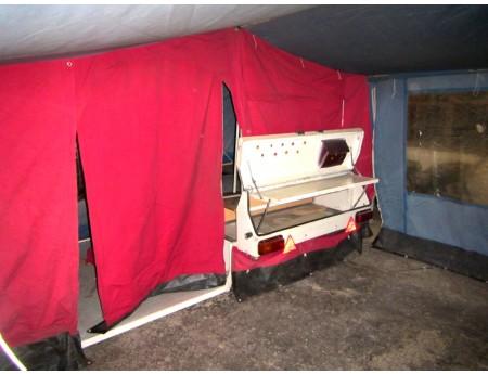 Klappfix CT-5 Camptourist DDR Wohnzeltanhänger (C17543)