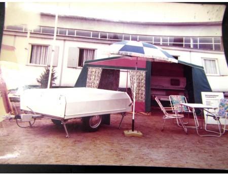 Wohnzeltanhänger Klappfix CT 5 Fotografie Archivfoto (C17544)