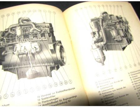 Betriebsanleitung LKW G5 Werdau Handbuch 1963 (C17767)