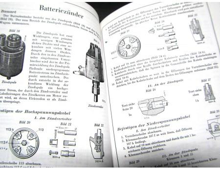 Bosch Ausrüstung für Opel Wagen 1929 Ersatzteile (C17768)