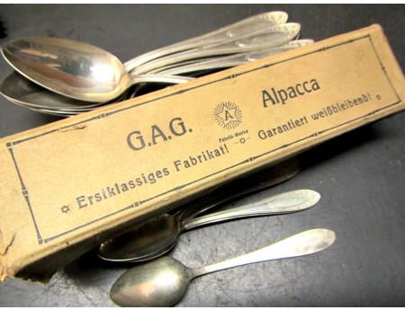 G.A.G. Alpacca Esslöffel Teelöffel (C18380)