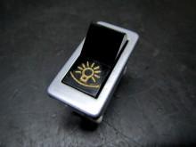 Wippschalter KA1321 Licht Lada Kippschalter Alu / gold (C15229)