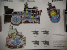 Barkas B1000 Getriebe Schnittzeichnung Poster (C17176)