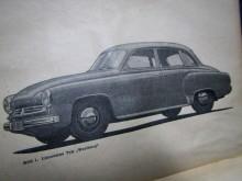 Betriebsanleitung Wartburg 1956 Handuch 1.Serie (17312)