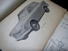 Betriebsanleitung Trabant 601 Handbuch 1966 (C17374)