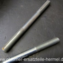 Achse Renak Vorderradnabe 128 mm DDR Fahrrad Neu (C5711)
