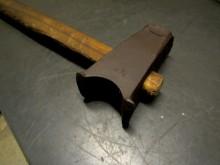 Schmiedehammer 2 1/4 altes Schmiede Werkzeug (C9546)