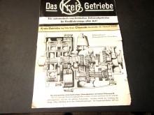 Prospekt Kreis-Getriebe Fritz Kreis Chemnitz (C18812)