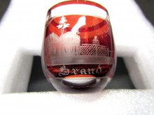 """Glas graviert Schnapsglas """"Brand"""" - Ich dachte Dein (C19034)"""