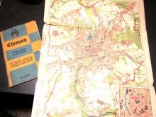 Chemnitz kleiner Führer mit Stadtplan (C19275)