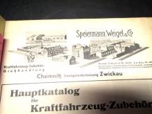 ESWECO Katalog 1938 Speiermann, Weigel & Co. Chemnitz Bestzustand (C19369)