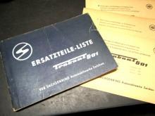 Ersatzteilliste Katalog Trabant 1967 (C19819)