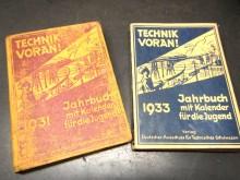 Technik voran 1931 / 1933 Jahrbuch Kalender (C17547)