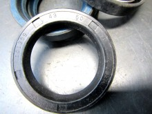 Wellendichtring  43x60x10 DKW F8 IFA P70 Dichtflansch Getriebe 4 Stk. (C17797)