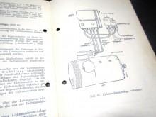 Bosch Lichtmaschinen Handbuch 1940 (C17949)