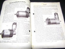 Bosch Licht-Batterie-Zünder Handbuch 1928 (C17950)