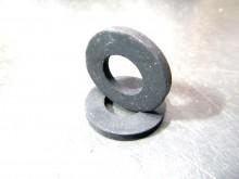 Gummi Unterlage 2 Stk. Dichtung 12x25x3 mm (C17980)