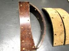 Bremsbelag 35 x 5 mm Bremsbacken 4 Stück (C18059)