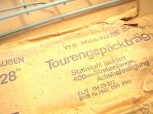 """Gepäckträger grau 28 """" MIFA DDR Fahrrad (C18149)"""