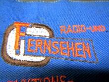 Aufnäher PGH Radio und Fernsehen DDR Firmenschild (C18179)